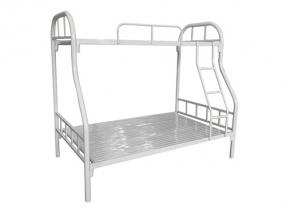 铁板子母床