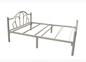 单层铁架床