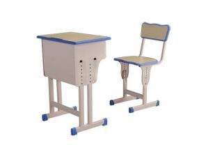 双排升降课桌椅